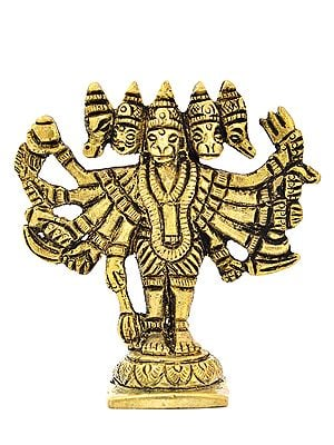 Five Headed Hanuman (Small Statue)