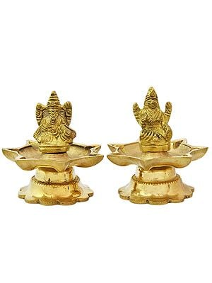 Ganesha Lakshmi (Pair of Lamp)