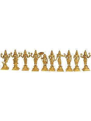 Dashavatara (Ten Incarnations of Lord Vishnu)