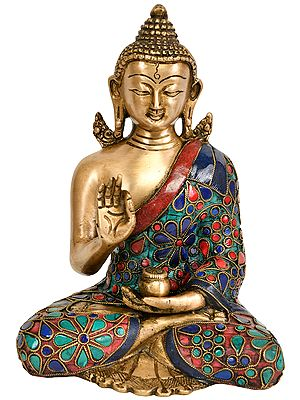 Lord Buddha in Vitark Mudra