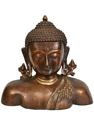 Lord Buddha Wall Hanging Bust