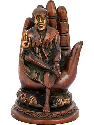 Sai Baba in Blessing Hand