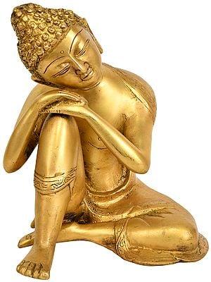 Tibetan Buddhist Deity - Thinking Buddha