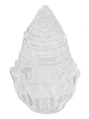Real Crystal Shri Yantra on Lotus