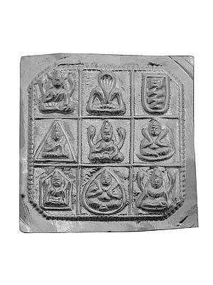 Shri Navagraha Pratima for Worship