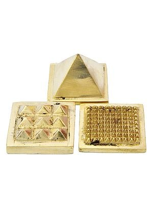 Vastu Pyramid (Set of Three): 91 Pyramids in Total