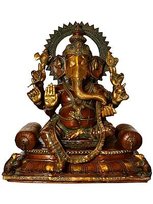 Seated Lord Ganesha - Large Size