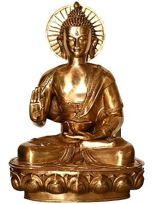 Tibetan Buddhist Deity Large Size Preaching Buddha