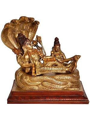 Sheshasayi Vishnu with Lakshmi Ji