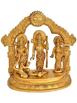 Shri Rama Durbar with Surya Prabhavali