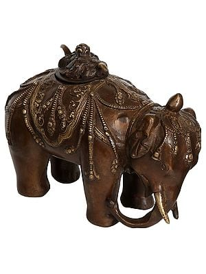 Elephant Incense Burner (Tibetan Buddhist)