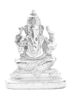 Lord Ganesha (Carved in Parad)
