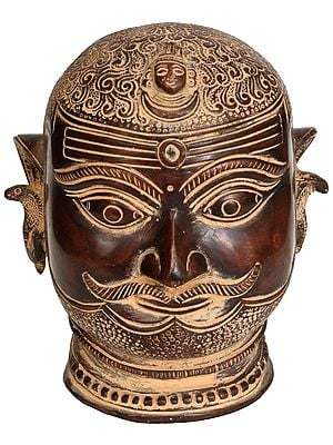 Lord Shiva as Bhairava (Head)
