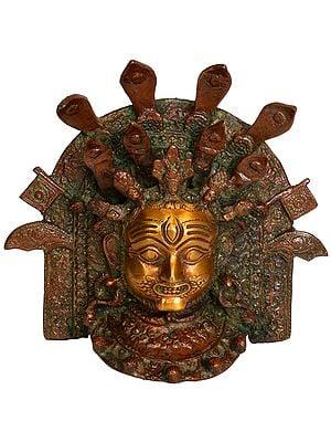 Bhairava Wall Hanging Mask