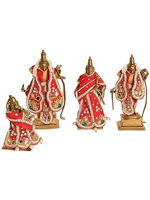 Shri Rama Durbar with Shringar