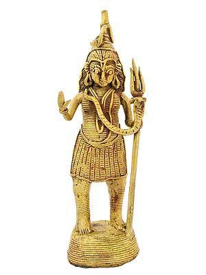 Lord Shiva (Tribal Statue)