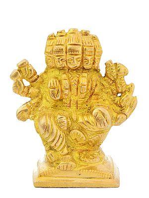 Goddess Gayatri (Small Statue)