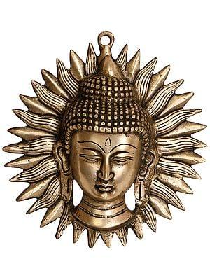 Lord Buddha Wall Hanging Mask (Tibetan Buddhist Deity)