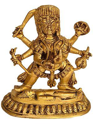 Tibetan Buddhist Deity Mahakala