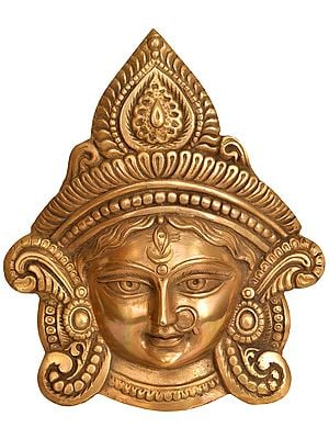 Goddess Durga Wall Hanging Mask