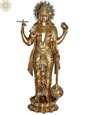 Large Size Standing Chaturbhuja Vishnu
