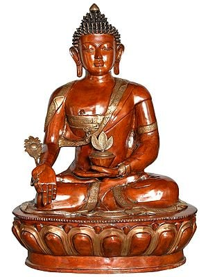 Large Size Tibetan Buddhist Medicine Buddha