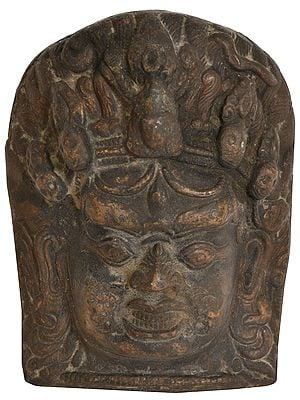Lord Bhairava Wall Hanging Mask