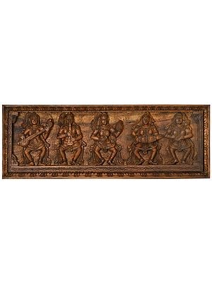 Heavenly Apsaras Musical Panel