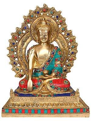 Enthroned Vajrasana Buddha
