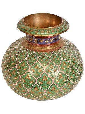 Decorated Fine Islamic Pot