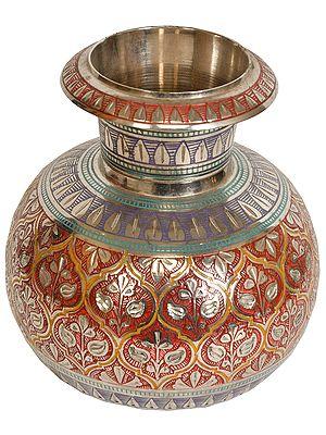 Decorated Fine Pot