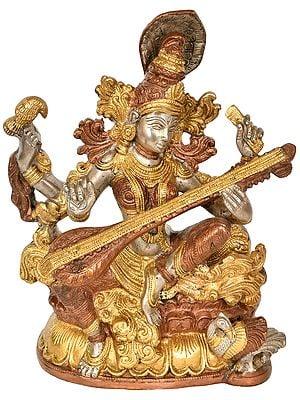 The Graceful Devi Sarasvati