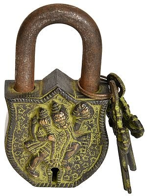 Hanuman Temple Lock