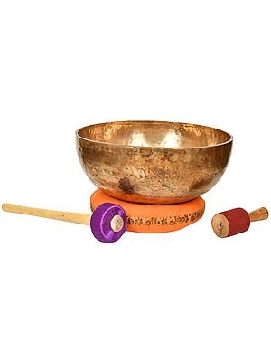 Super Large Size Superfine Singing Bowl - Tibetan Buddhist