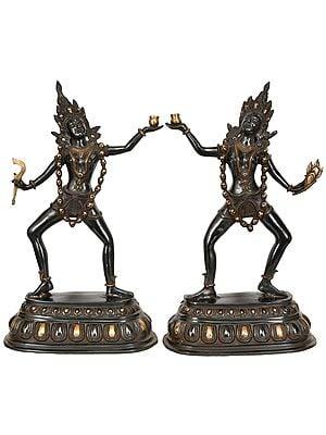 Two Yoginis