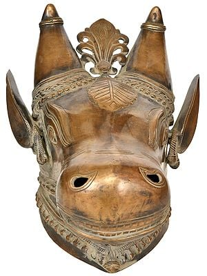 Nandi Head - Wall Hanging