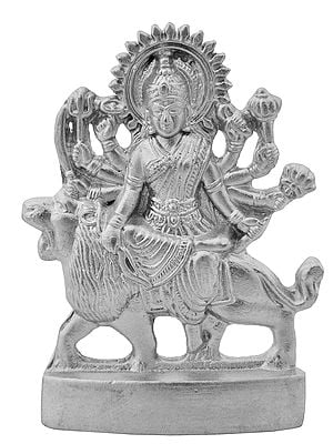 Goddess Durga (Carved in Parad)