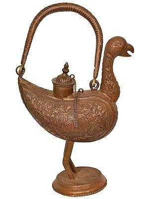 Decorated Bird Surahi