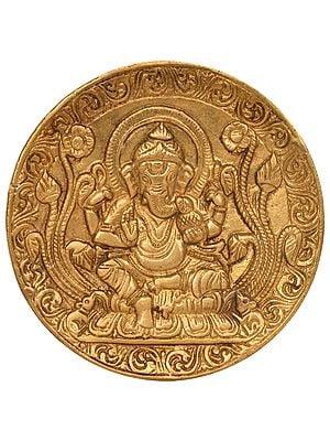 Ganesha Wall Hanging Plate
