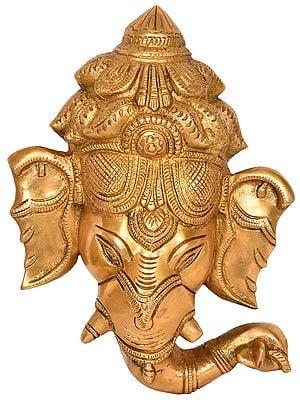 Ganesha Wall Hanging Mask