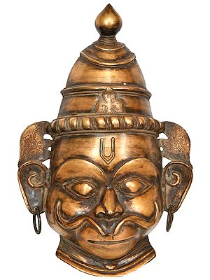 Lord Hanuman Large Wall Hanging Mask