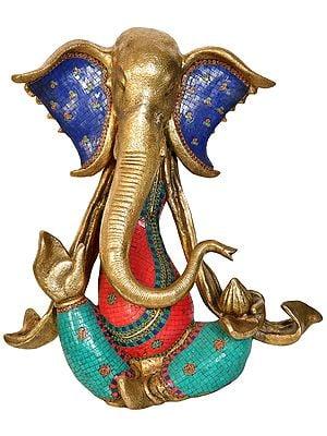 Stylized Modern Ganesha (Large Size)