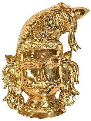 Virabhadra Wall Hanging Mask