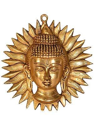 Lord Buddha Wall Hanging Mask (Tibetan Buddhist)