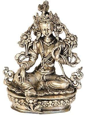 Made in Nepal Goddess Green Tara (Tibetan Buddhist)