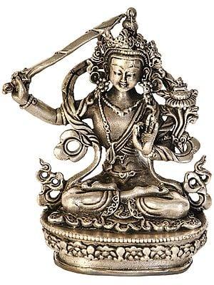 Made in Nepal Tibetan Buddhist Deity Manjushri