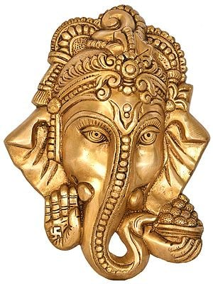 Ganesha Mask (Wall Hanging)