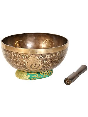Lord Shiva Singing Bowl (Made in Nepal)