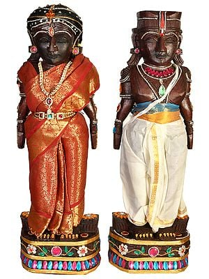 Folk Dolls of Radha Krishna