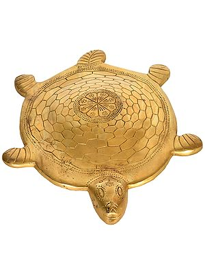 Large Vastu Tortoise with Yantra Underneath
